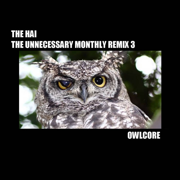 The Unnecessary Monthly Remix 3: Owlcore cover art