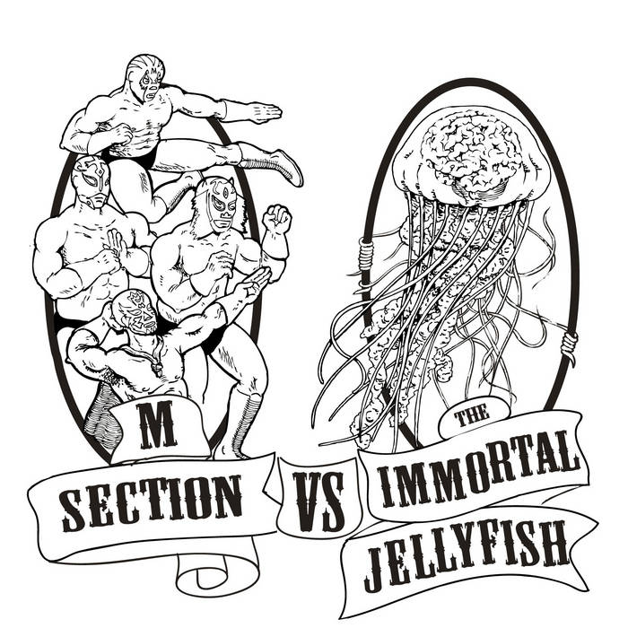 M SECTION VS THE IMMORTAL JELLYFISH cover art