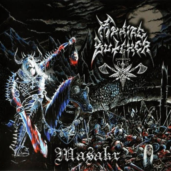 MANIAC BUTCHER - Masakr cover art