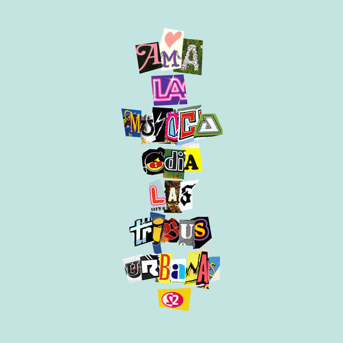 DOTD009 SANTISIMA VIRGEN MARIA - AMA LA MÚSICA ODIA LAS TRIBUS URBANAS VOL.2 cover art