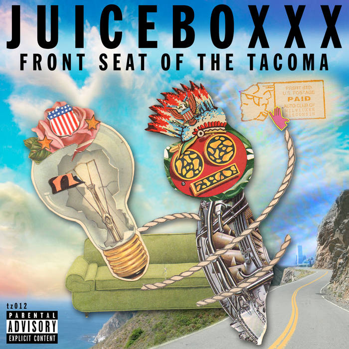 FRONT SEAT OF THE TACOMA cover art