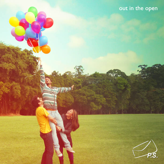 Out in the open cover art