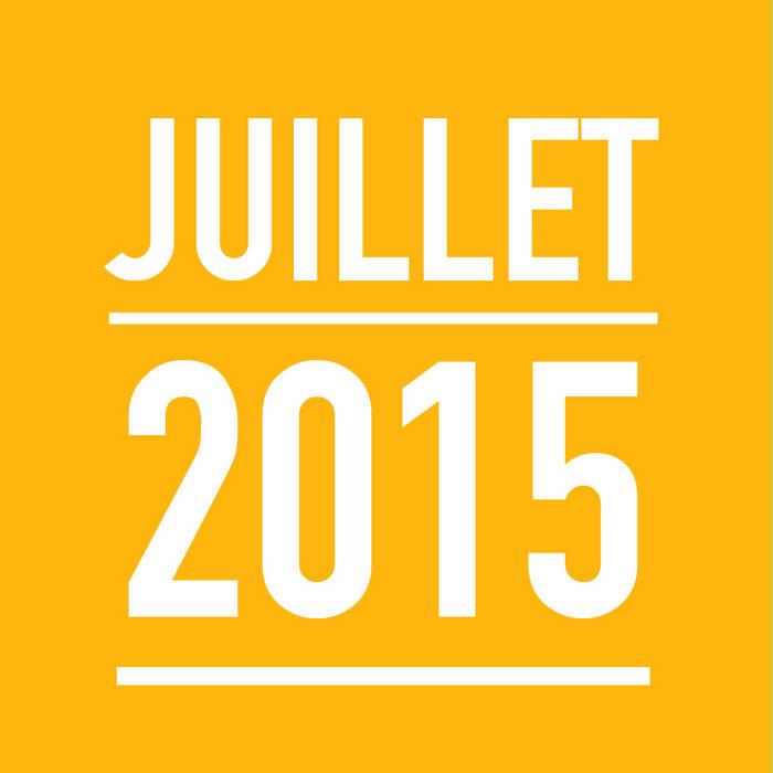 JUILLET 2015 cover art
