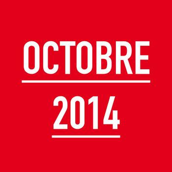 OCTOBRE 2014 cover art