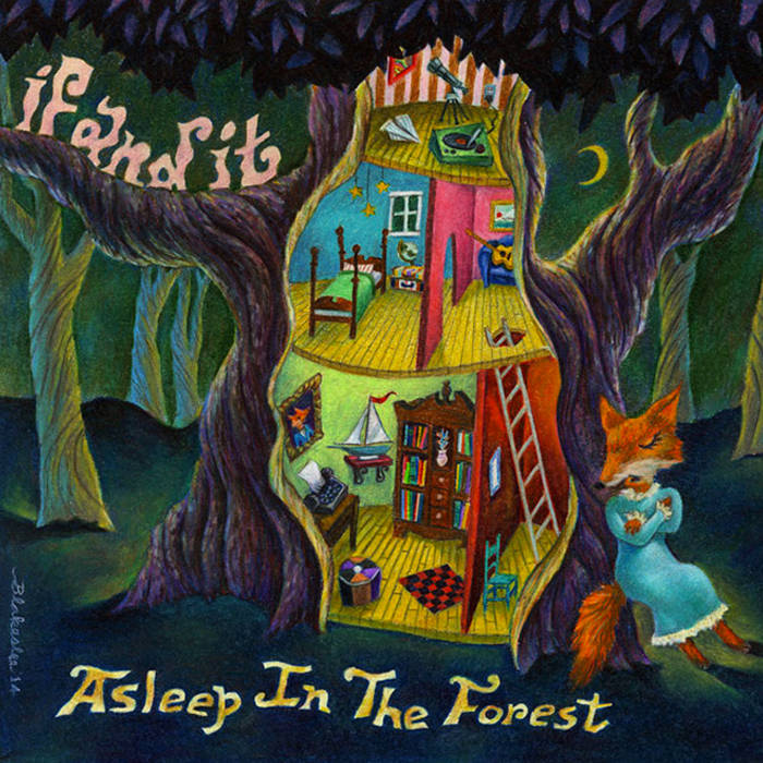 Asleep in the Forest cover art