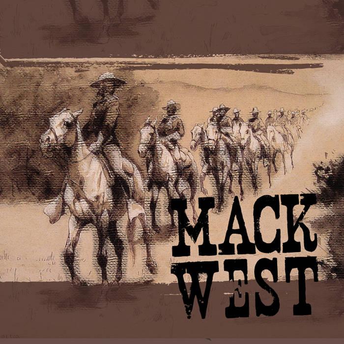 Mack West cover art