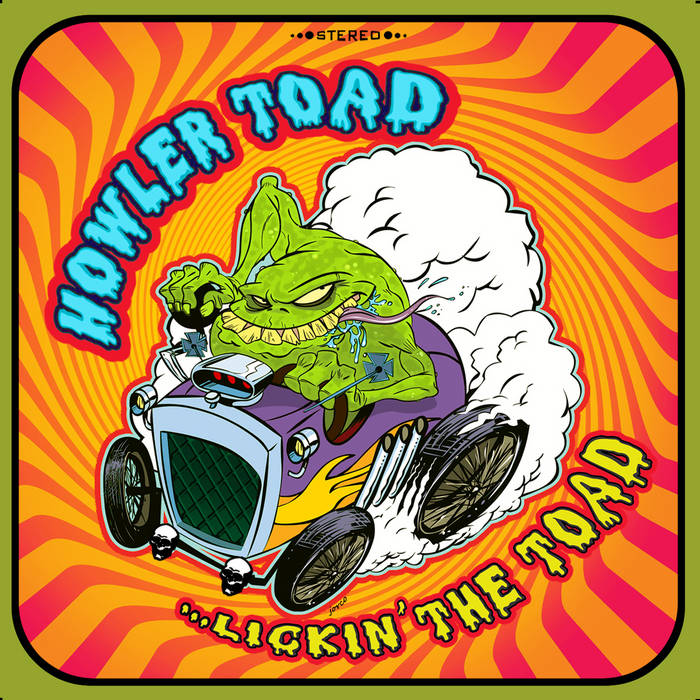 Lickin' The Toad cover art