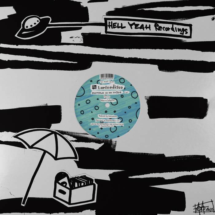 """12""""- Ragazzini / Diavolo di un Disco cover art"""