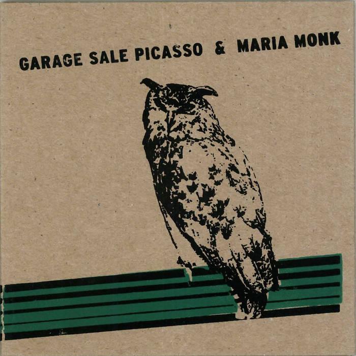 Garage Sale Picasso & Maria Monk Split CD cover art
