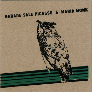 Garage Sale Picasso & Maria Monk Split CD cover art