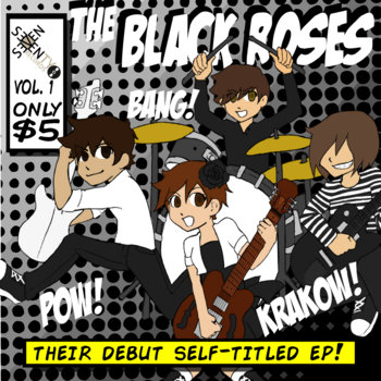 The Black Roses EP cover art