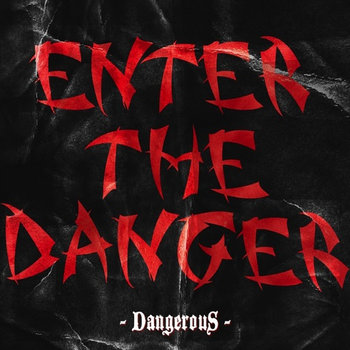 ENTER THE DANGER cover art