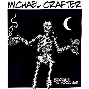 Michael Crafter // Uncle Geezer split tape cover art