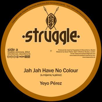 Jah Jah Have No Colour + Dub cover art