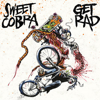 """Sweet Cobra split 7"""" cover art"""