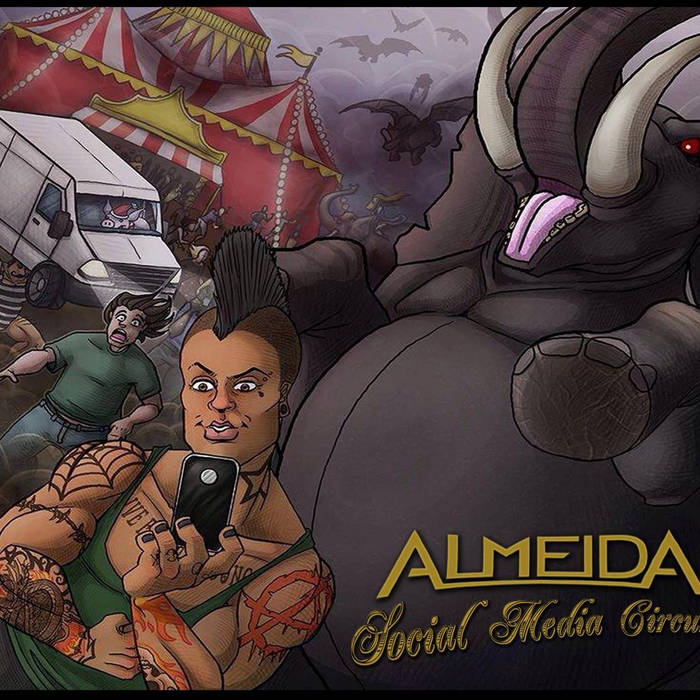 Social Media Circus cover art