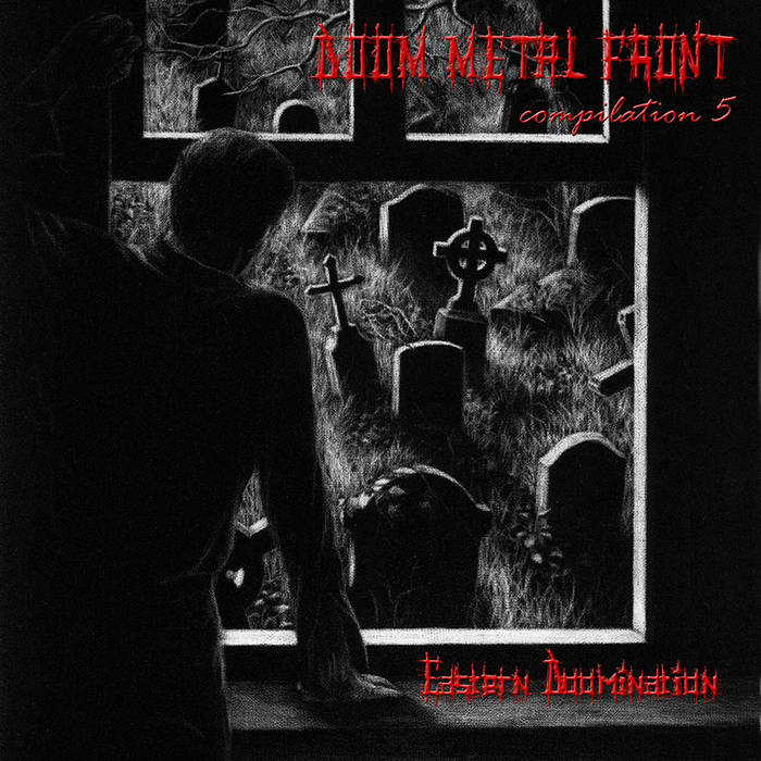 DOOM METAL FRONT compilation 5 - Eastern Doomination cover art