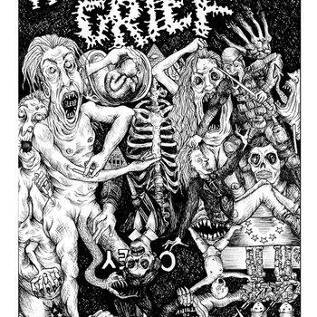 """Rapturous Grief 7"""" cover art"""