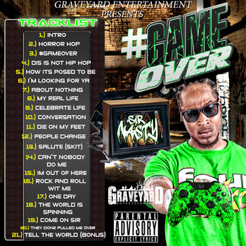 #GAMEOVER cover art