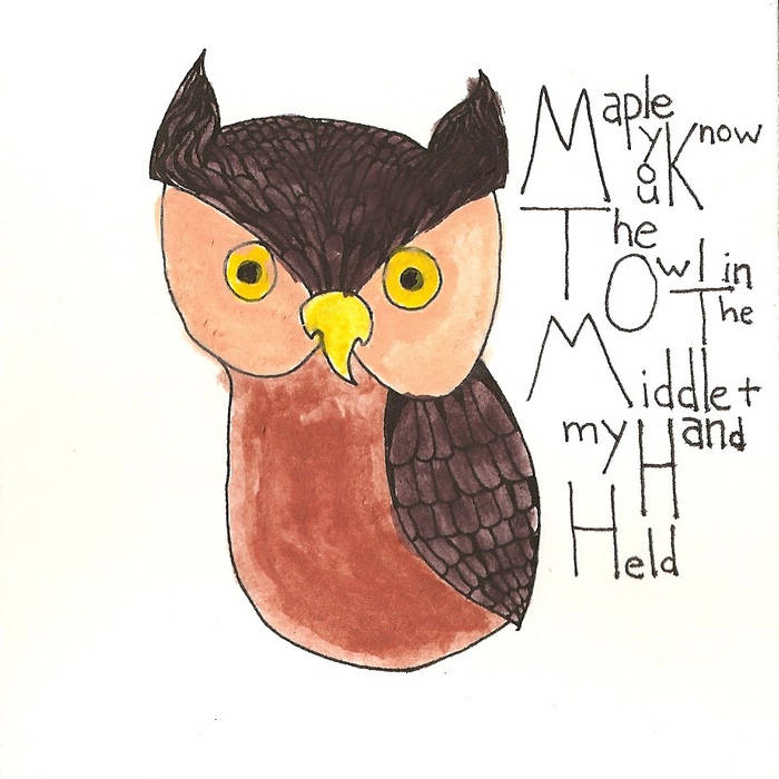 The Owl in the Middle and My Hand Held cover art