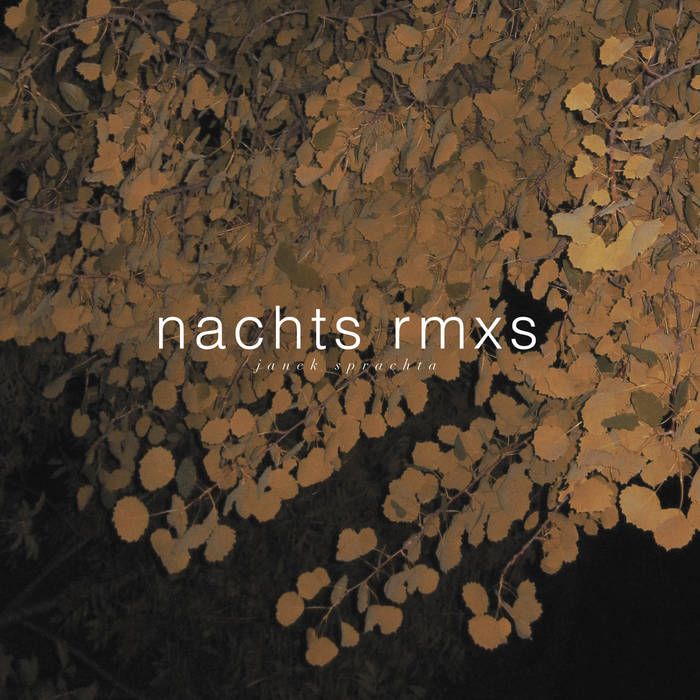 Nachts Rmxs cover art