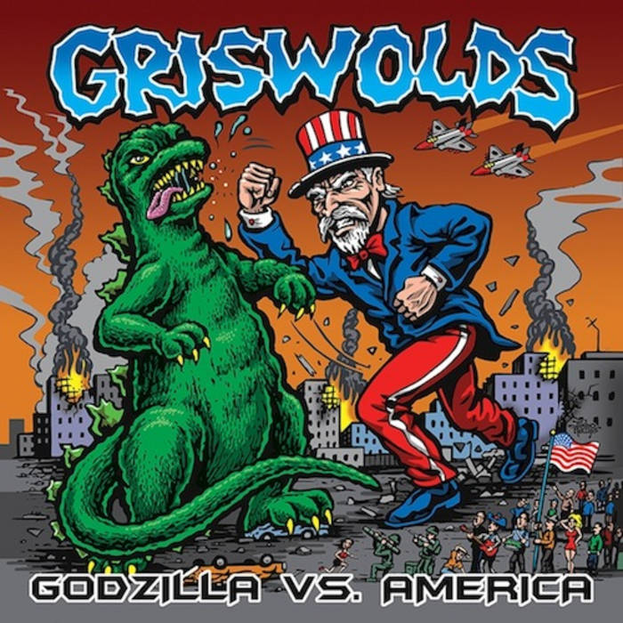 Godzilla Vs. America cover art