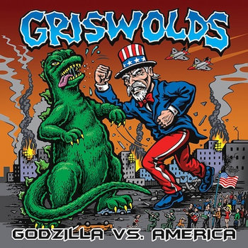 Godzilla Vs. America cover art