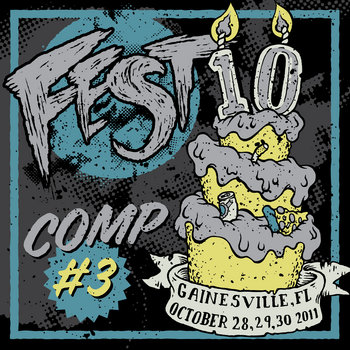 Fest 10 Compilation #3 cover art