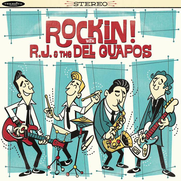 Rockin! with R.J. & The Del Guapos cover art