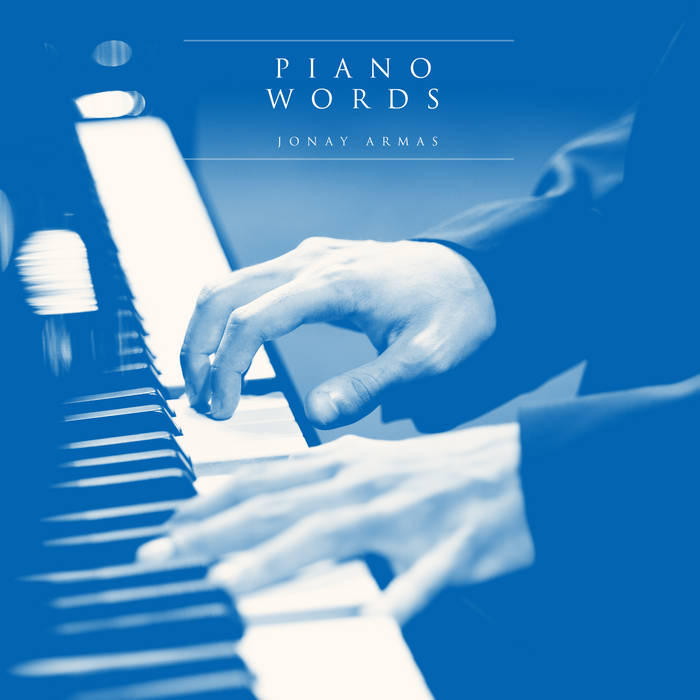 Piano words cover art