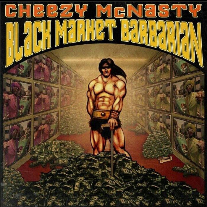 Black Market Barbarian cover art