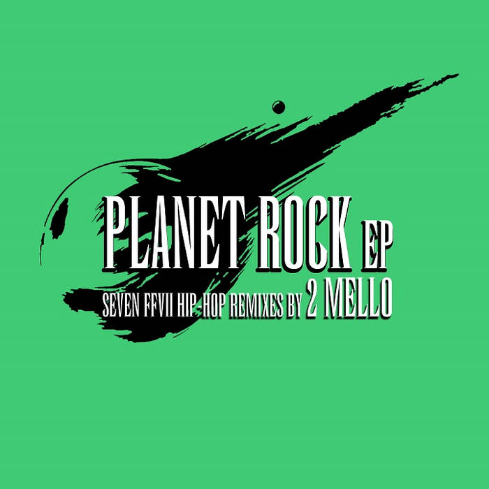 PLANET ROCK EP cover art