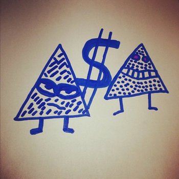 Triangle or Die Trying (The Remixes) cover art