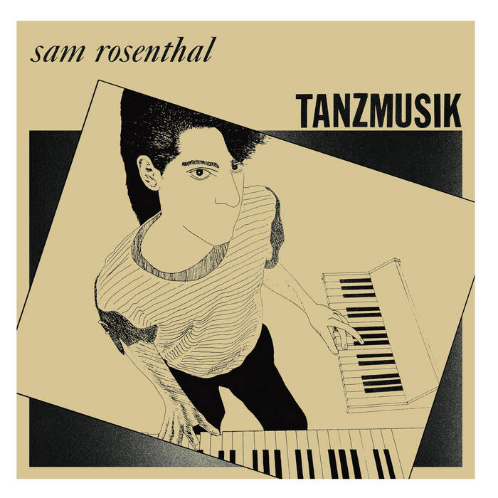 MNQ 029 Sam Rosenthal - Tanzmusik LP cover art