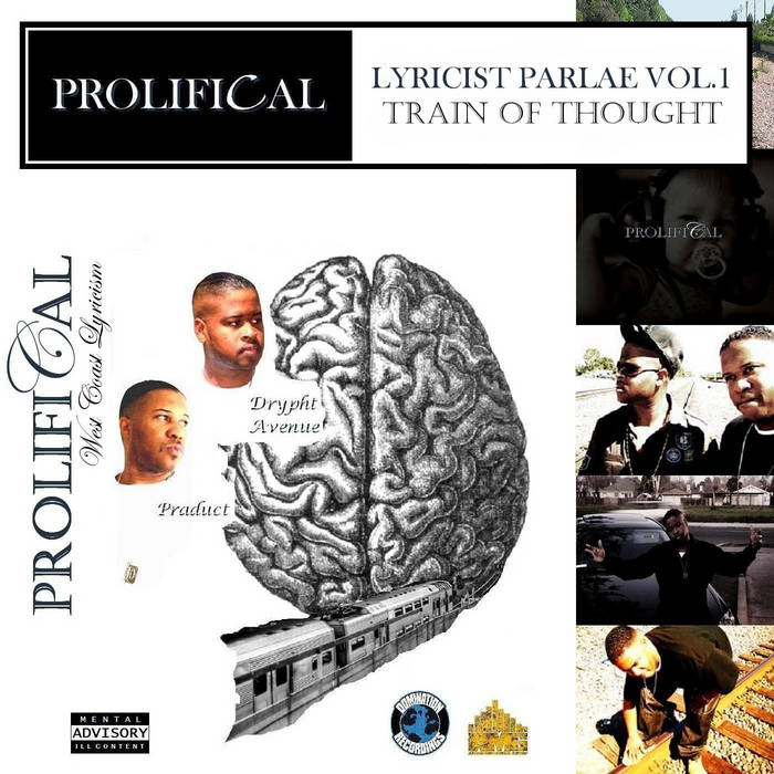 Lyricist Parlae vol.1:Train Of Thought cover art