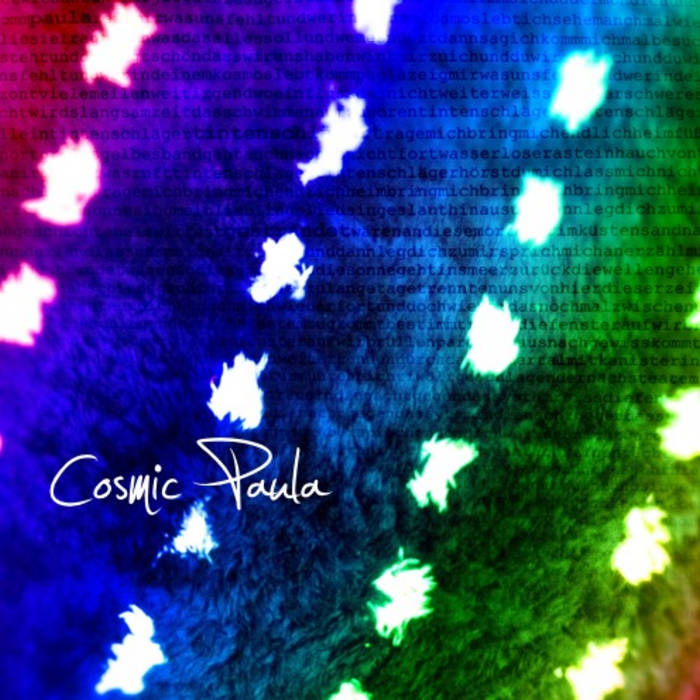 Cosmic Paula (EP) cover art