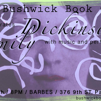 Bushwick Book Club presents Emily Dickinson cover art