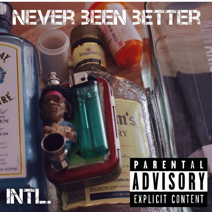 Never Been Better cover art