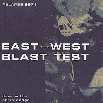 East West Blast Test cover art