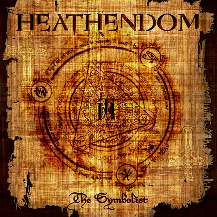 "HEATHENDOM ""The Symbolist"" cover art"