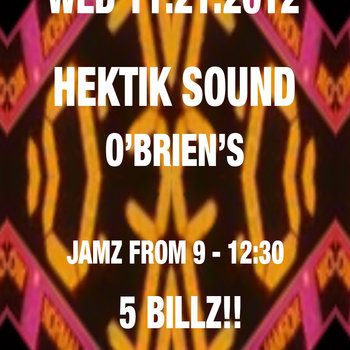 Hektik Sound Promo Mix #1 - 11.21.12 cover art