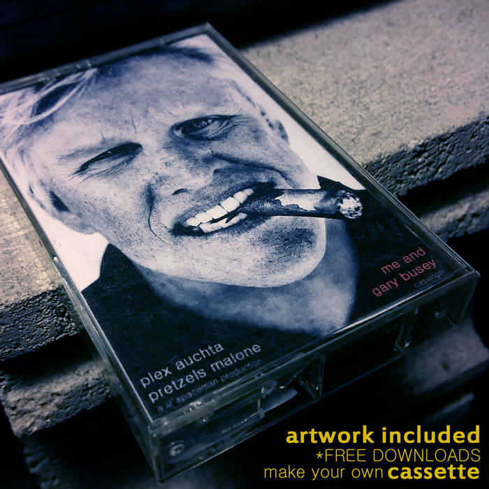 me and gary busey cover art