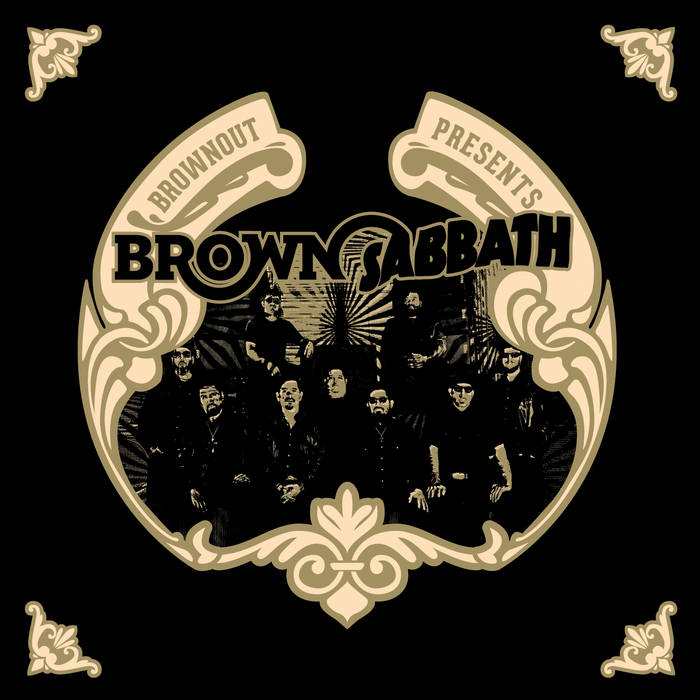 Brownout Presents Brown Sabbath cover art