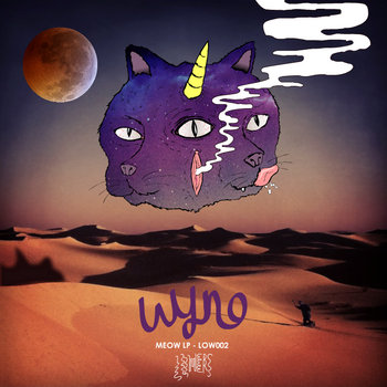 Meow LP - LOW002 cover art