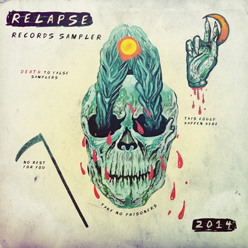 Relapse Sampler 2014 cover art
