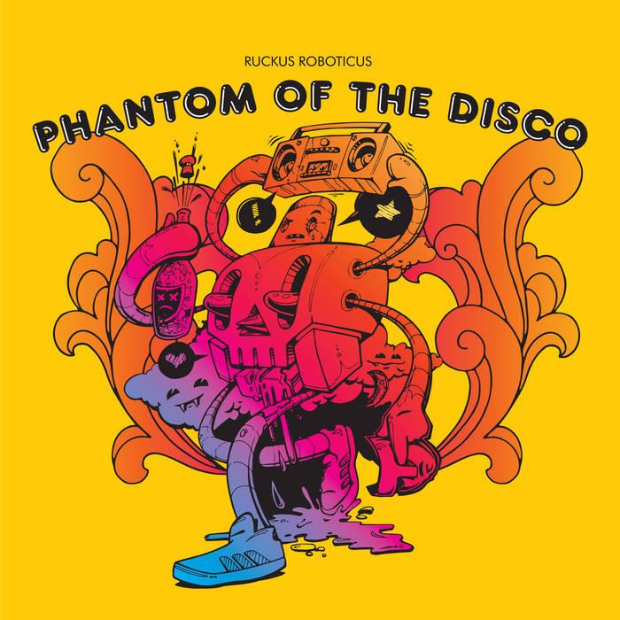 Phantom Of The Disco cover art
