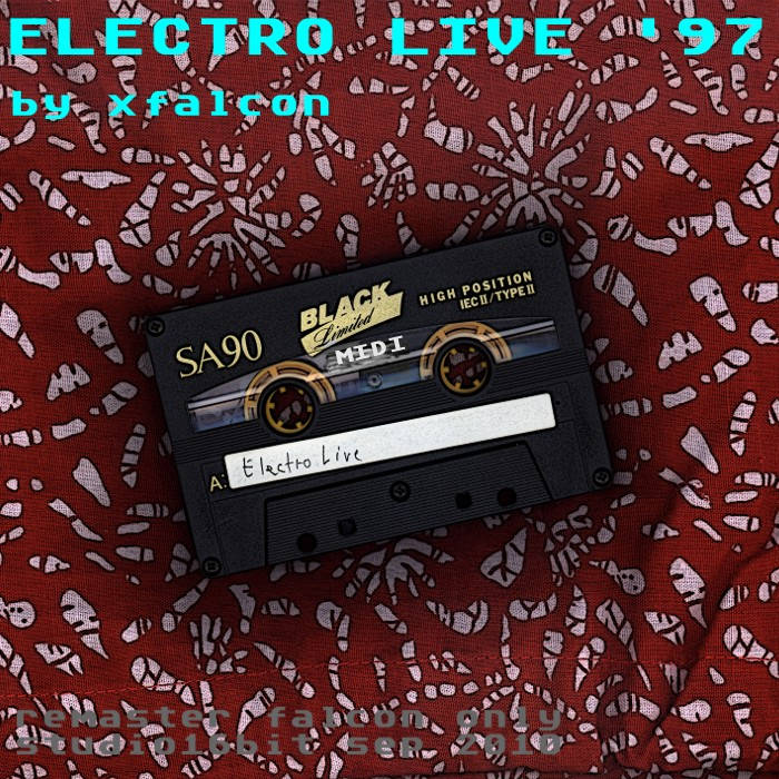Electro Live cover art