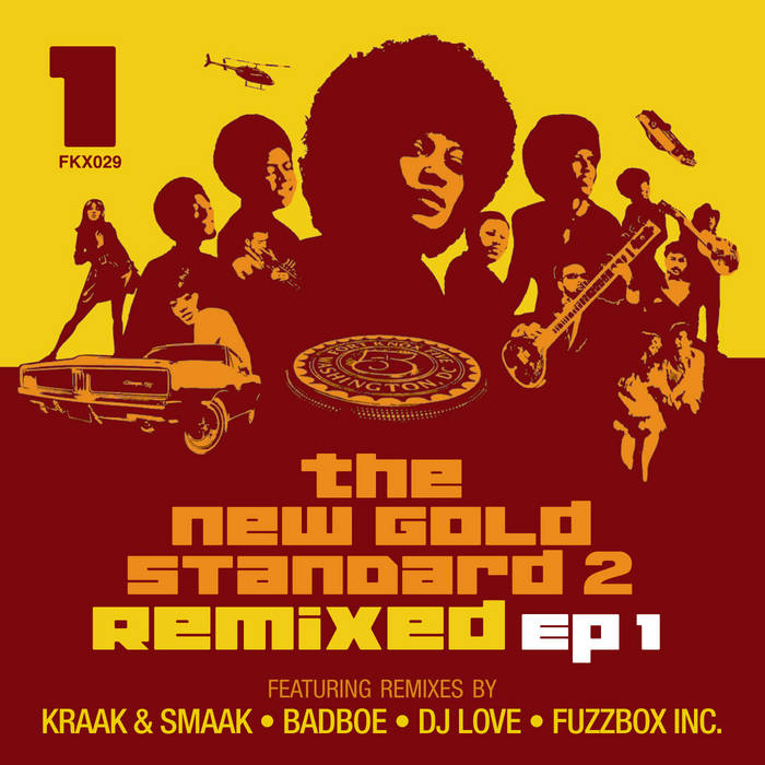 The New Gold Standard 2 Remixed - EP 1 cover art