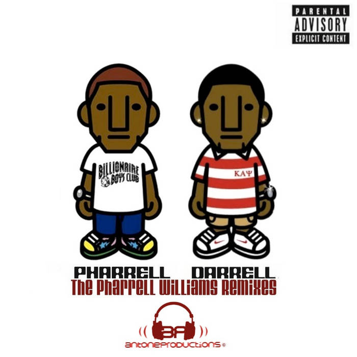 The Pharrell Williams Remixes cover art
