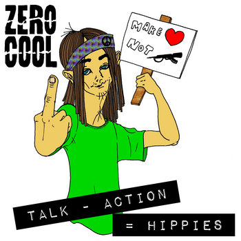 Talk - Action = Hippies cover art